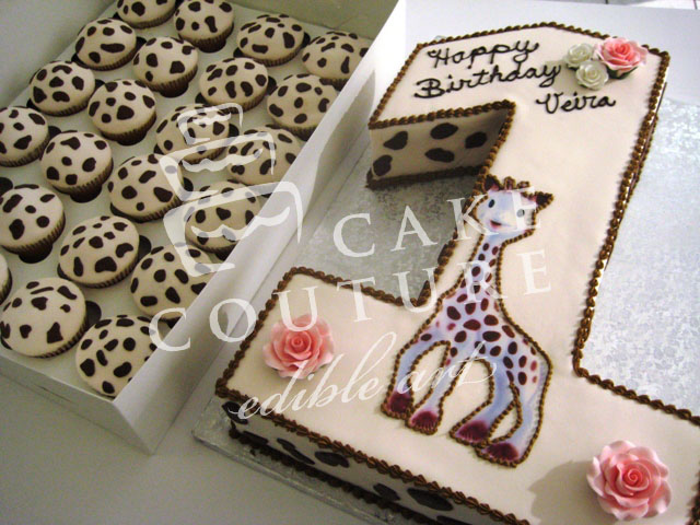 Edible Art Cake Recipe : Cake Couture - edible art - Cupcakes